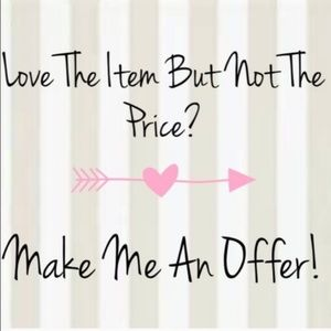 Love the Item?  Make me an Offer!